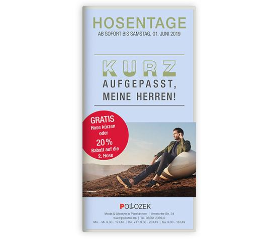 Hosentage Herren - Cover